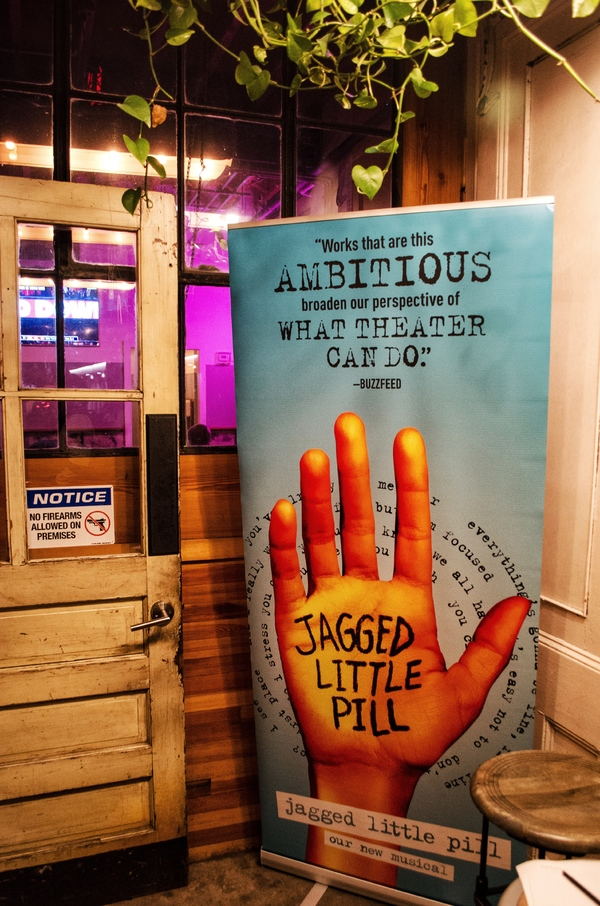 Photo Coverage: JAGGED LITTLE PILL Cast Raises a Glass of Other Half Brewery's Jagged Little Pils!
