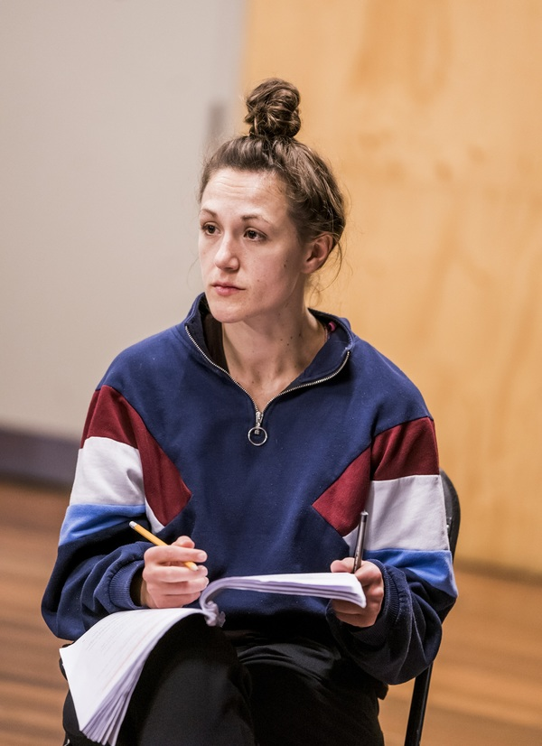 Photo Flash: Inside Rehearsal For Frantic Assembly's I THINK WE ARE ALONE