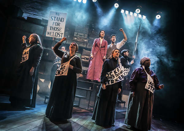 Photo Flash: First Look at Hope Mill Theatre's RAGS at Park Theatre