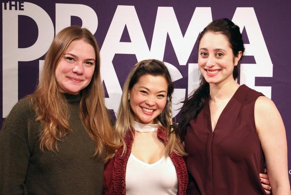 "Cast of The Drowning Girls ��"" Jessie Datino, Lisa Helmi Johanson, Rachel Claire Photo"
