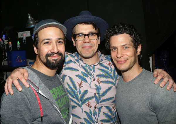 Freestyle Love Supreme co-founders Lin-Manuel Miranda, Anthony Veneziale and Thomas Kail