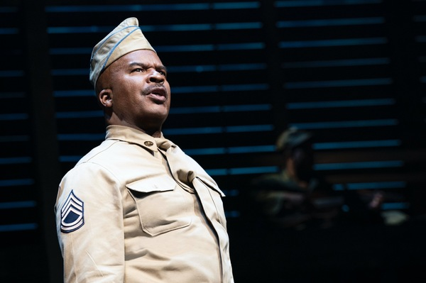 Photo Flash: First Look at David Alan Grier, Blair Underwood & More in A SOLDIER'S PLAY on Broadway