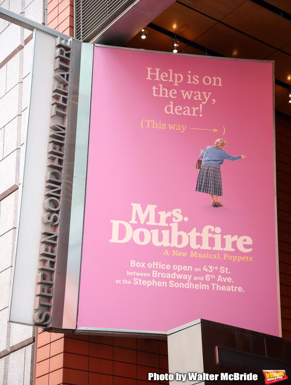 Up on the Marquee: MRS. DOUBTFIRE Arrives on Broadway