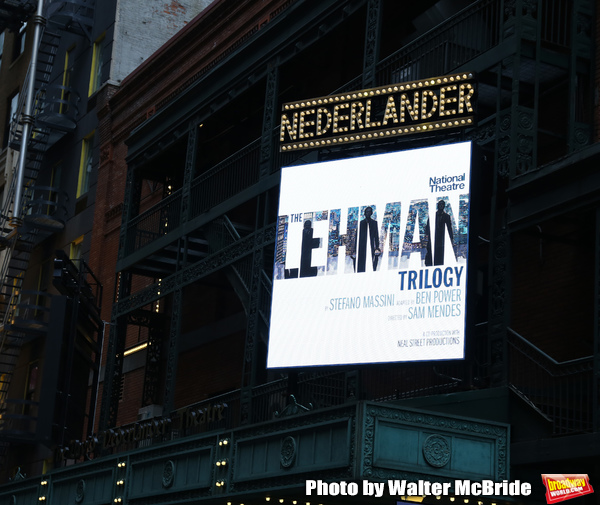 Up on the Marquee: THE LEHMAN TRILOGY