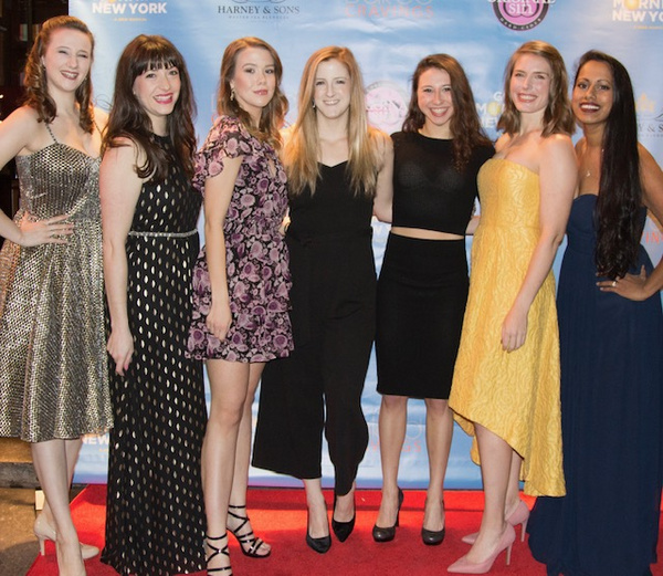 Photo Flash: GOOD MORNING NEW YORK Celebrates Opening Night