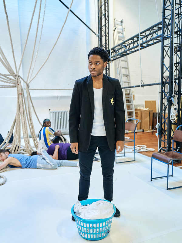 Photo Flash: Inside Rehearsal For the UK Tour of A MONSTER CALLS