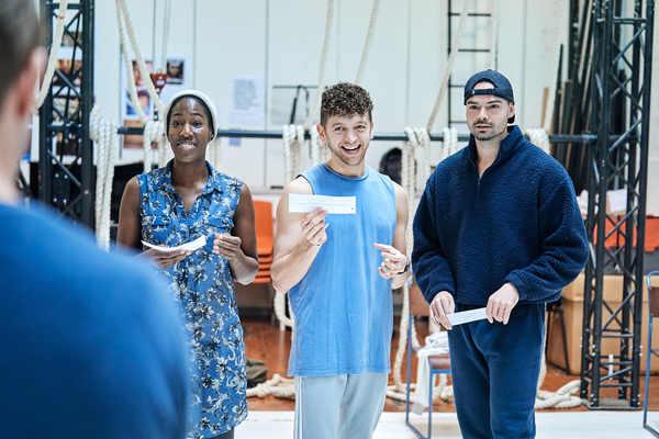 Maria Omakinwa, Greg Bernstein, Sam Wood Photo