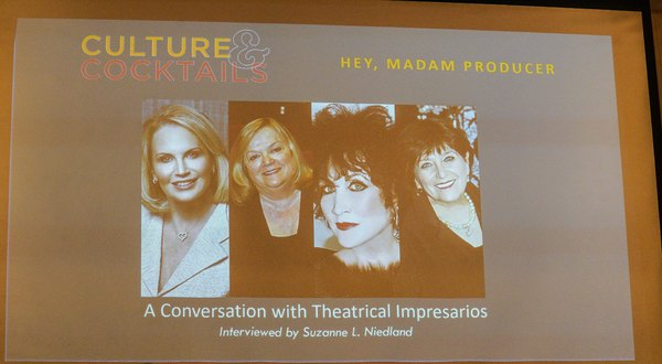 Photo Coverage: HEY, MADAM PRODUCER: A Conversation with Theatrical Impresarios
