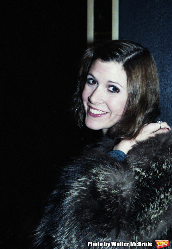 Photo Flashback: Carrie Fisher After a Performance of CENSORED SCENES FROM KING KONG in 1980