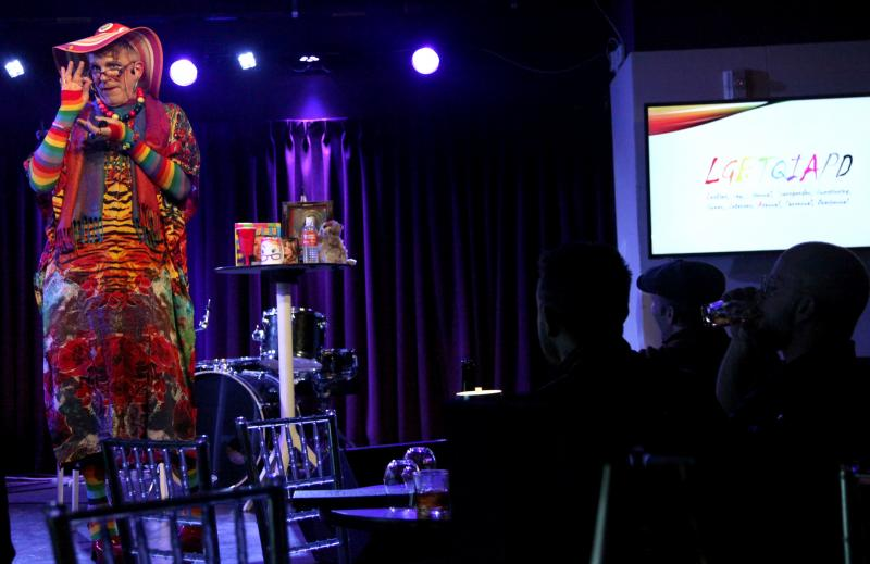 BWW Photo Flash: LEOLA - GAY HISTORY FOR STRAIGHT PEOPLE at The Green Room 42