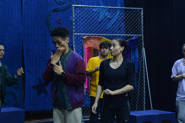 Photo Coverage: BEYOND BABEL In Rehearsal