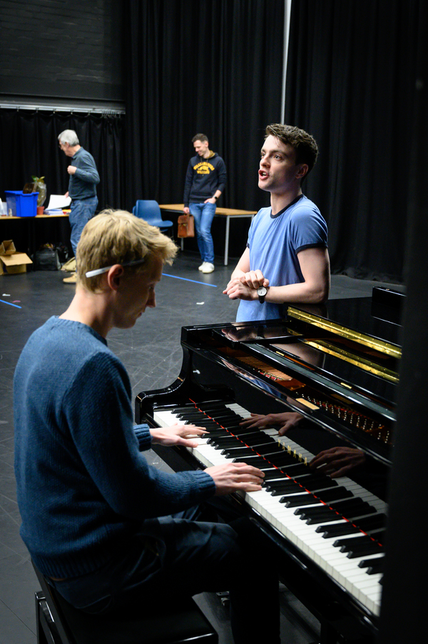 Photo Flash: In Rehearsal With THE HISTORY BOYS at Wolverhampton Grand