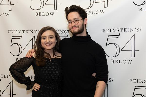 Jen Sandler and Michael Kushner Photo