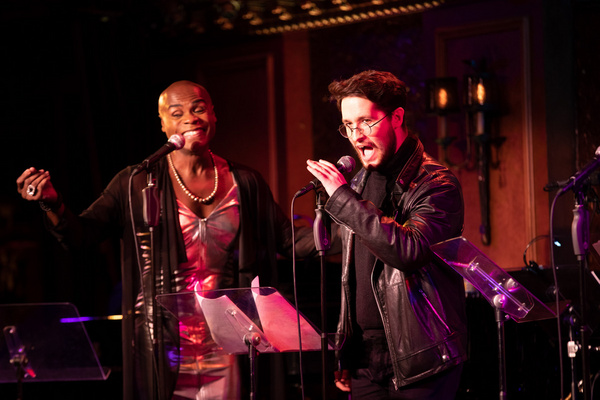 Nathan Lee Graham and Michael Kushner Photo
