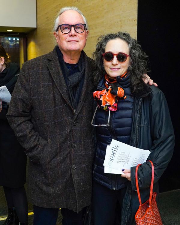 Chris Calkins and Bebe Neuwirth  Photo