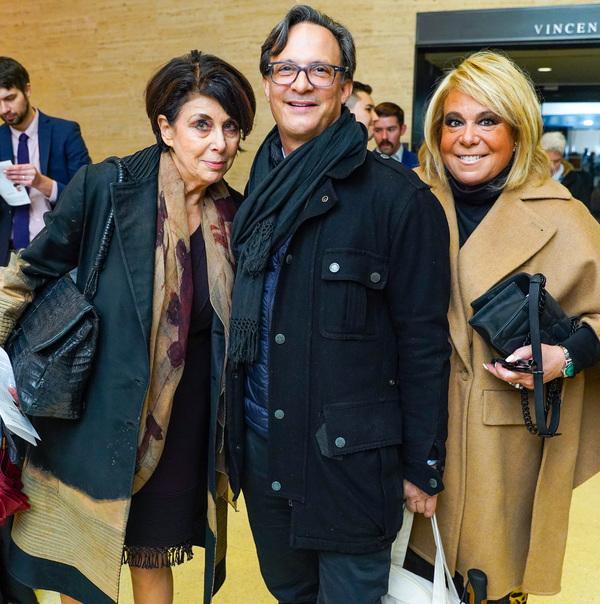Judith Hoffman, Ben Rodriguez-Cubenas and Joanna Fisher  Photo