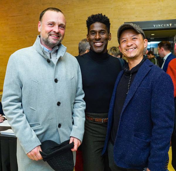Marius Meland, Lloyd Knight and Eng Ooi Photo