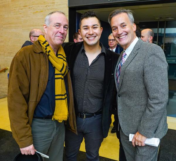 Nathan Hurlin, Adam Rei Siegel and Frank Conway  Photo