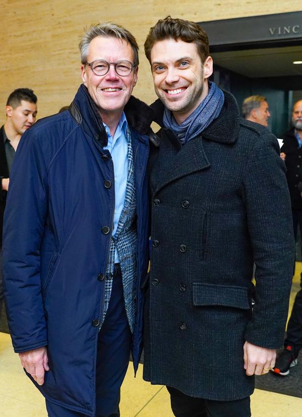 Stephen Reidy and Michael Novak  Photo