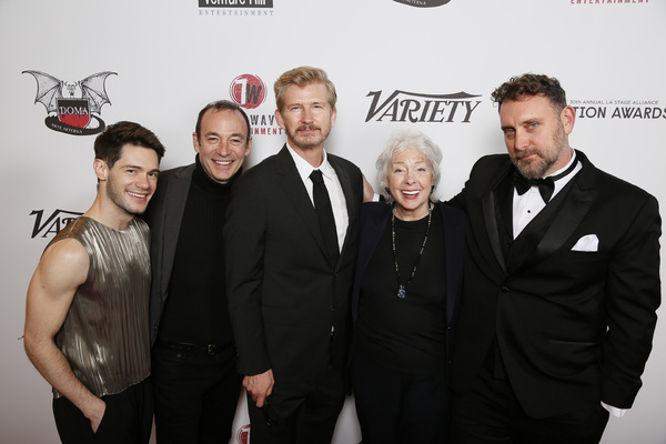 JOSE FERNANDO, ED F. MARTIN, BILL BROCHTRUP, JENNY O'HARA, TIM CUMMINGS Photo