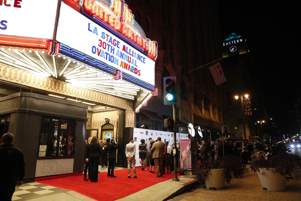 The LA Stage Alliance Ovation Awards held at The Theatre at Ace Hotel