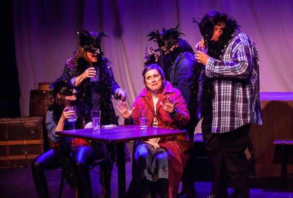 Shannon Hartman, Clare Blackmer, Meg Sullivan, Ava Mascena, and Jason Quinn in THE ST Photo