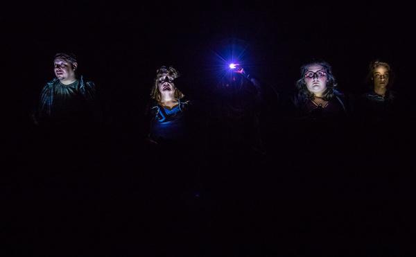 Jason Quinn, Clare Blackmer, Meg Sullivan, Ava Mascena, and Shannon Hartman in THE ST Photo