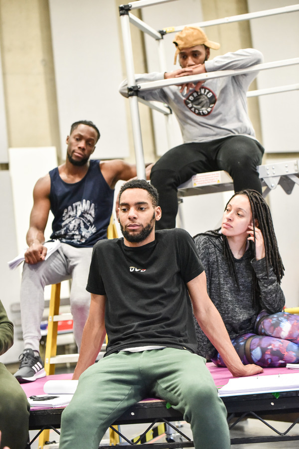 Simi Egbejumi-David, Khai Shaw, Marcel White, Aimee Powell Photo