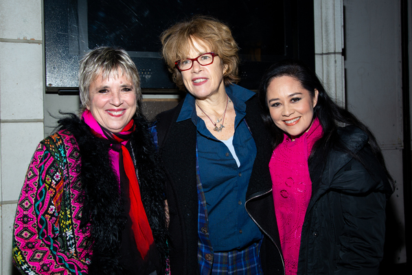 Eve Ensler and guests Photo