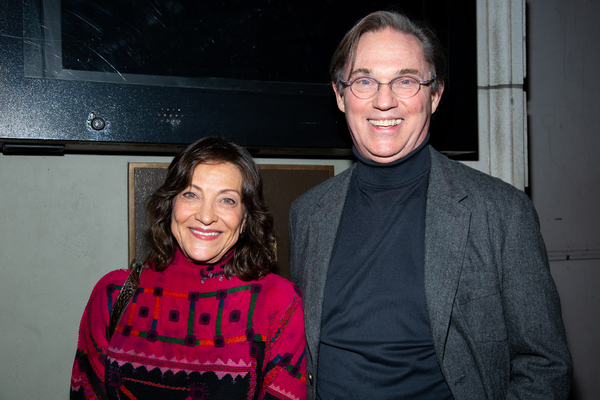 Georgiana Bischoff, Richard Thomas Photo