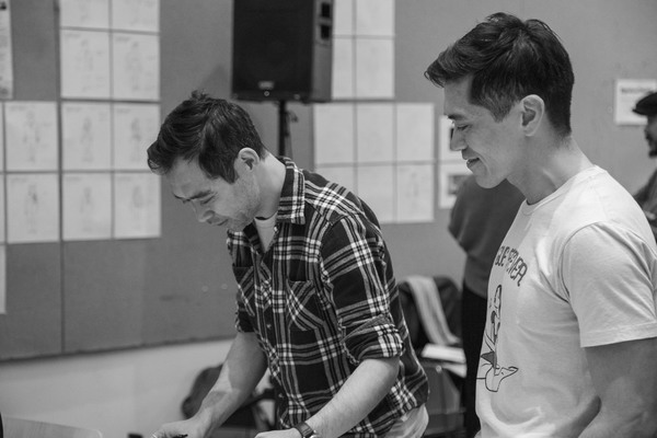 Photo Flash: In Rehearsal With CAMBODIAN ROCK BAND At Signature Theatre