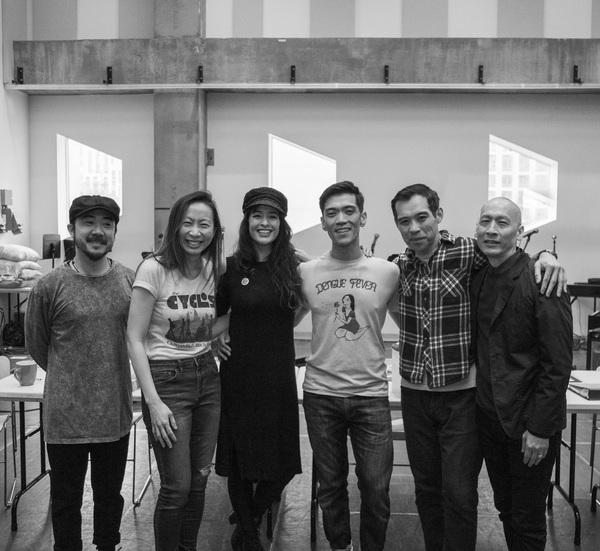 Abraham Kim, Jane Lui, Courtney Reed, Moses Villarama, Joe Ngo and Francis JueLauren  Photo