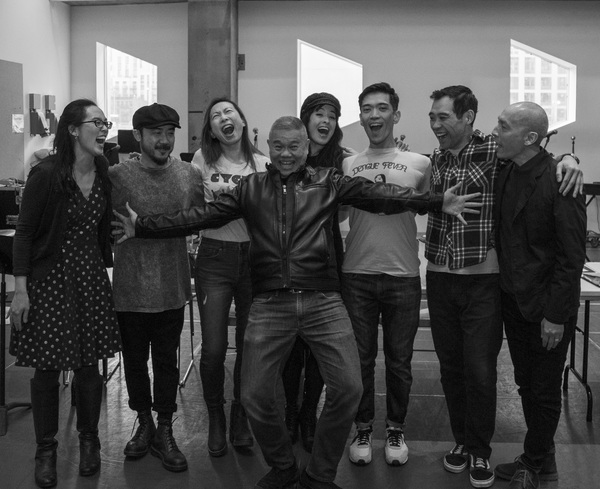 Lauren Yee, Chay Yew, Abraham Kim, Jane Lui, Courtney Reed, Moses Villarama, Joe Ngo  Photo
