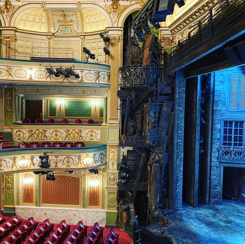 Photo Flash: Go Inside The Newly Refurbished Sondheim Theatre, Home To London's LES MISERABLES!