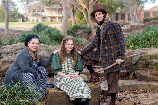Camryn Smith, Alexa Stratton, and Brayden Soffa Photo