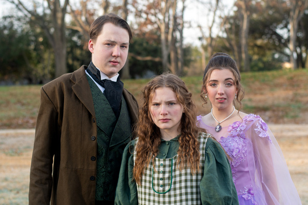 Luke Williams, Alexa Stratton, and Ashlyn Koford