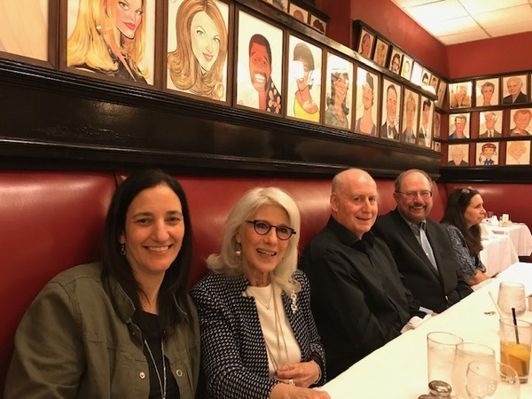 Tamar Climan, Jamie deRoy, William Franzblau, Rupert Holmes & Teressa Jennings Photo
