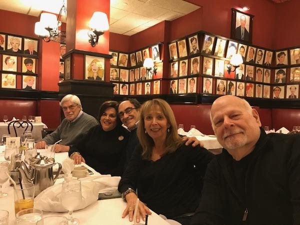 Photo Flash: SAY GOODNIGHT, GRACIE Creatives Reunite at Sardi's