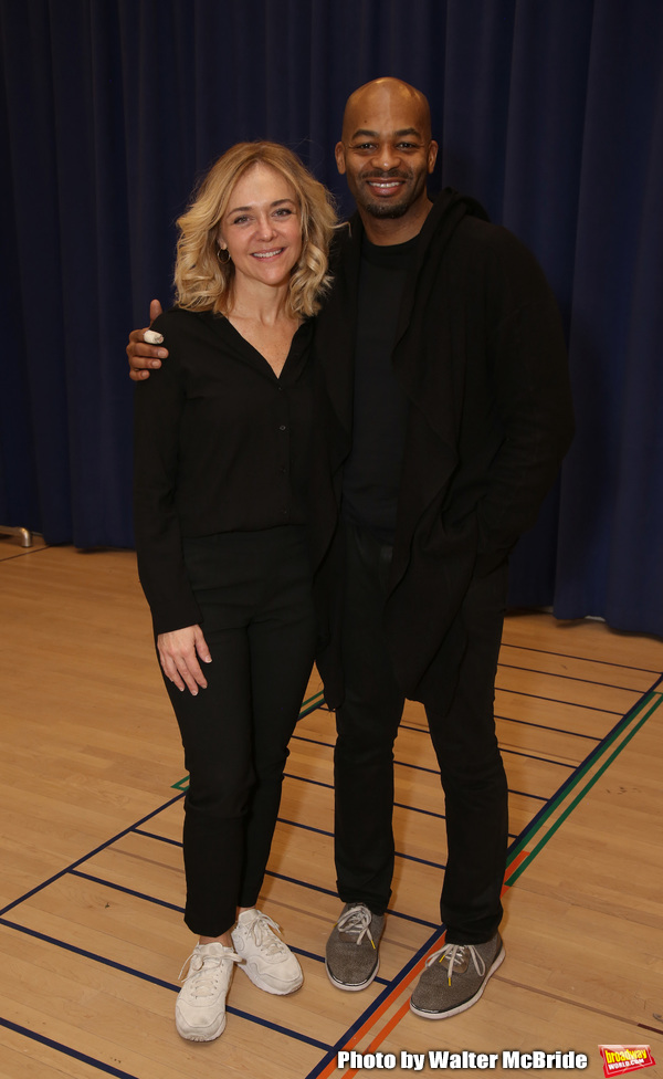 Photo Coverage: In Rehearsal with Rachel Bay Jones, Brandon Victor Dixon and the Cast of NEXT TO NORMAL