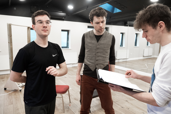 Photo Flash: First Look at Rehearsal Photos for The Barn Theatre's THE IMPORTANCE OF BEING EARNEST