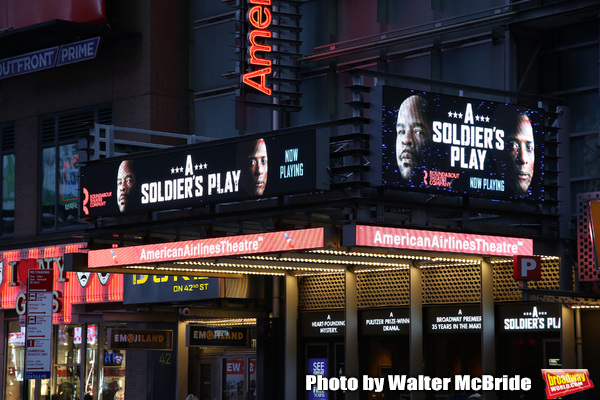 Up on the Marquee: A SOLDIER'S PLAY