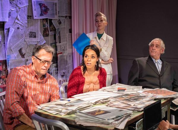 Steven Culp, Michelle Bonebright-Carter, Jocelyn Towne and Peter Van Norden Photo