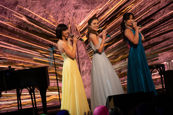 Susan Egan, Laura Osnes, Courtney Reed Photo