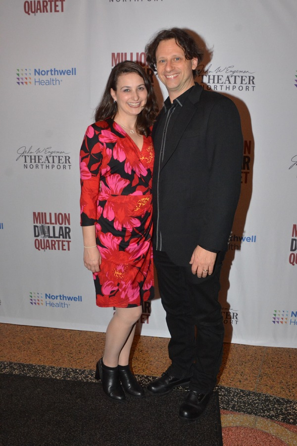 Keith Andrews (Director and Choreographer) and his wife Amy Photo