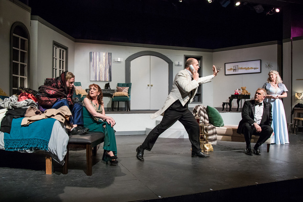 Photo Flash: First Look at IT'S ONLY A PLAY at The Morgan-Wixson