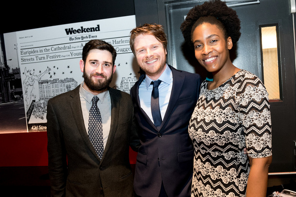 Austin Read McCaslin-Doyle, Sean Harrison Jones, Vannesa Lynah Photo