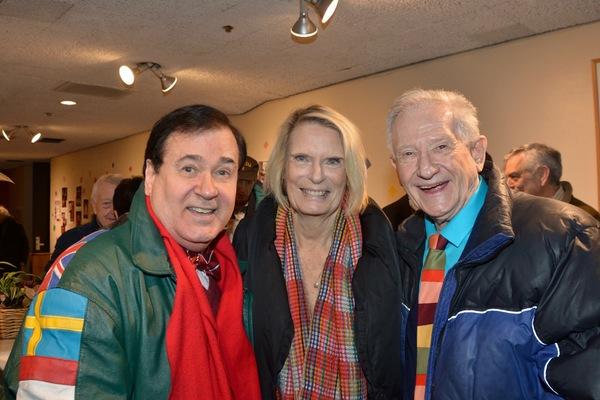 Lee Roy Reams, Caroline Meehan and Harvey Evans Photo