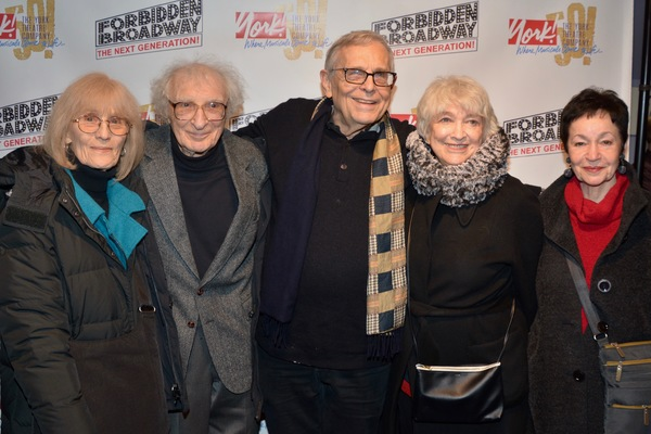 Margery Gray, Sheldon Harnick, Richard Maltby, Jr., Betty Cooper and Lynn Ahrens Photo