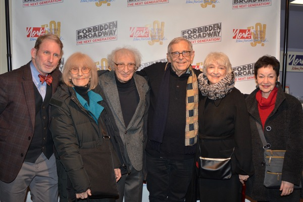 Evans Haile, Margery Gray, Sheldon Harnick, Richard Maltby, Jr., Betty Cooper and Lyn Photo