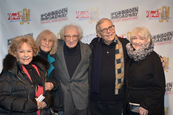Elise Loti, Margery Gray, Sheldon Harnick, Richard Maltby, Jr., Betty Cooper and Lynn Photo